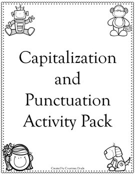 Capitalization and Punctuaction