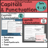 Capitalization and Punctuation: Commas Bundle