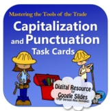Capitalization and Punctuation Digital Task Cards