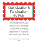 Capitalization and Punctuation Game