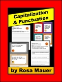 Capitalization and Punctuation Halloween & Autumn