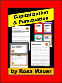 Fall Language Arts Capitalization and Punctuation