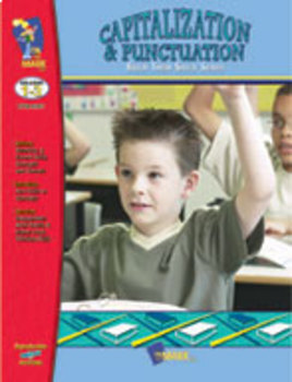Capitalization and Punctuation Practice: Build Their Skills Workbook Grades 1-3