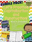 Capitalization and Punctuation Practice Bundle Pack