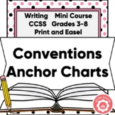 Writing Conventions Anchor Charts: Capitalization And Punctuation