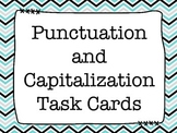 Punctuation and Capitalization Task Cards