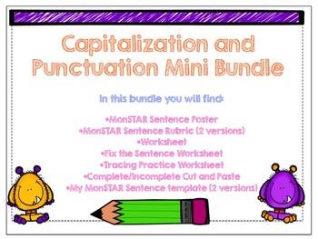 Capitalization and Punctuation Mini Bundle