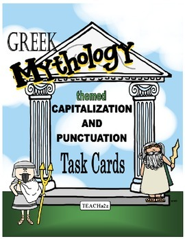 Capitalization and Puntuation Task Cards