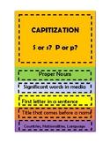 Capitalization flipbook