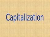 Capitalization lesson