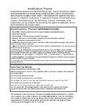 Capitalization with Modification Rubric (5 lessons) Grade 3