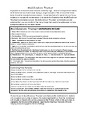 Capitalization with Modification Rubric (5 lessons) Grade 4