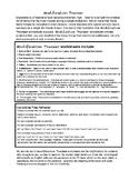 Capitalization with Modification Rubric (5 lessons) Grade 5