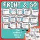 Capitalization Task Cards: 32 Multiple Choice Sentence Cards