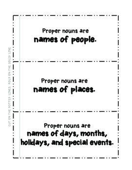Capitalize Proper Nouns