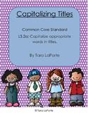 Capitalize Titles L3.2a