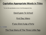 Capitalize Titles PowerPoint L.3.2a