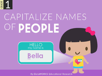 Capitalize Names of People