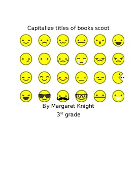 Capitalize titles of books scoot