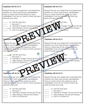 Capitalize with M.I.N.T.S Checklist