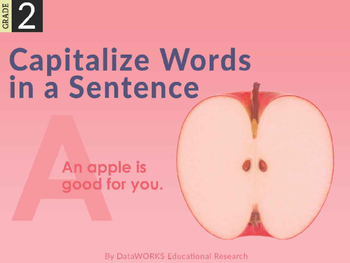 Capitalize the First Word in a Sentence