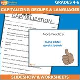Capitalization: Capitalizing Groups, Languages, and Religions