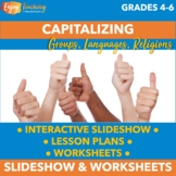 Capitalizing Groups, Languages, and Religions PowerPoint a