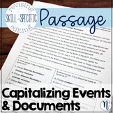 Capitalizing Historical Events & Documents: Skill-Specific