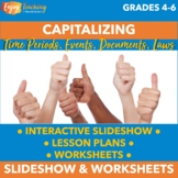 Capitalization: Capitalizing Time Periods, Historical Even