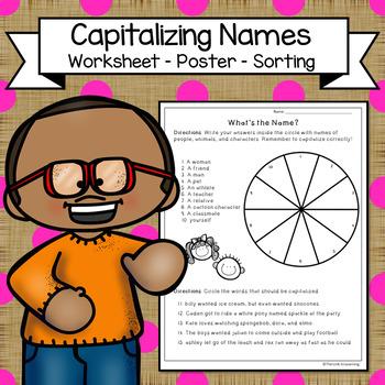 Capitalizing Names | Capitalization Practice | Capitalize