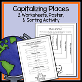 Capitalizing Practice - Capitalize Names of Places | Capitalization