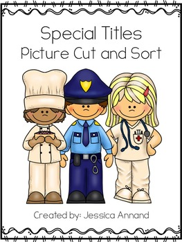 Capitalizing Special Titles Picture Cut and Sort