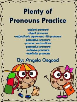 Plenty of Pronouns Practice