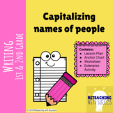 Capitalizing names of people