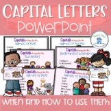Capital Letters A PowerPoint