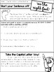Capitals and Ending Punctuation FREEBIE
