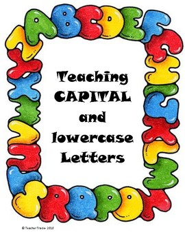 Capitals and Lowercase FOUR DAY Lessons