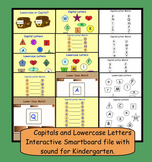 Capitals and Lowercase Letters: Interactive Smartboard file with sound
