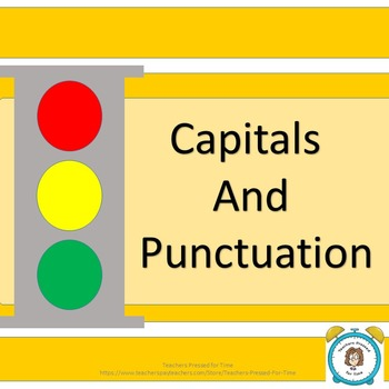 Capitals and Punctuation Full Lesson Plan