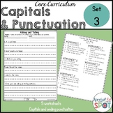 Core Curriculum Capitals and Punctuation Set 3
