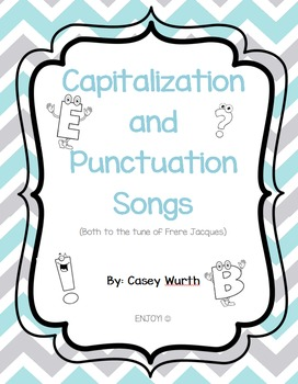 Capitals and Punctuation Songs