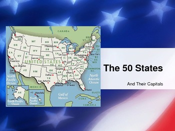 Capitals of the United States