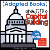 Capitol Building Adapted Books [ Level 1 and Level 2 ] | A