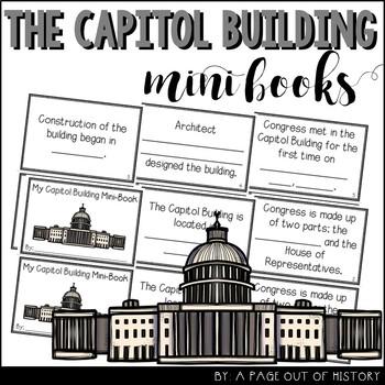 Capitol Building Mini-Books (U.S. Landmarks)