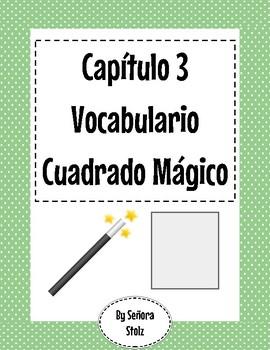 Capítulo 3 Vocabulario Cuadrado Mágico (Magic Square)