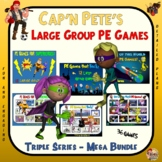 "Cap'n Pete's Large Group PE Games - ""Triple Series Mega Bundle"""