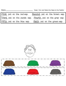 Caps For Sale Printables (Math and Literacy Activities)