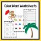 Color Word Mini-Book