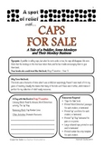 Caps For Sale - Relief /Substitute Teacher Unit (A Spot of Relief)