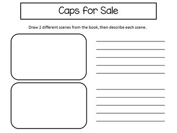 Caps for Sale        ~33 pgs Common Core Activities